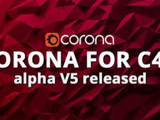 Выпущена версия Альфа V5 от Corona Render для Cinema 4D!