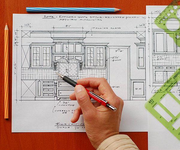 Этапы работы дизайна мебели
