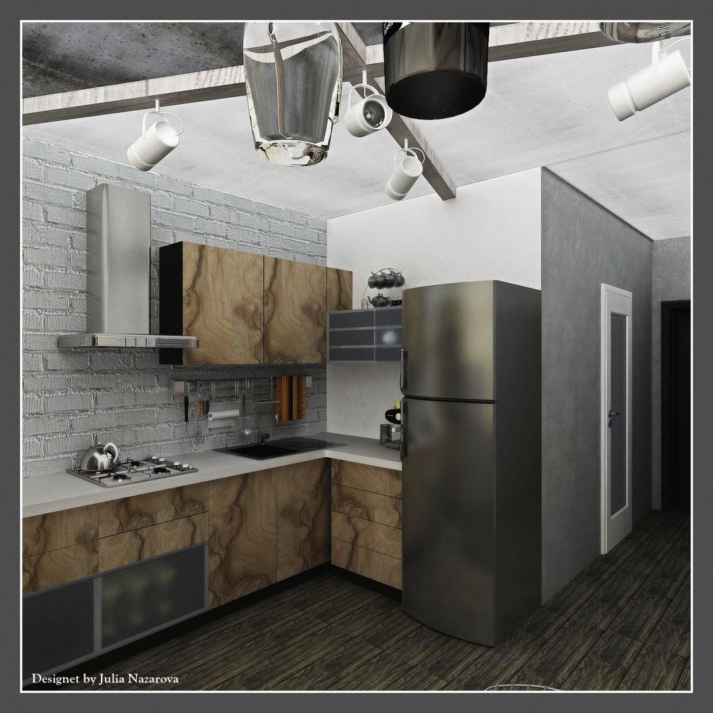 imagen de Cocina en 3d max vray 2.0
