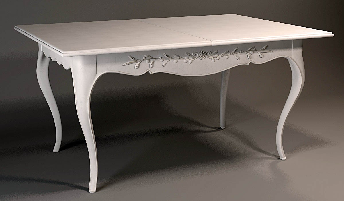 Table in 3d max vray image