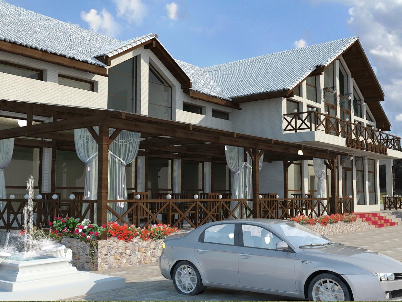 imagen de Casa Nuntii en 3d max vray