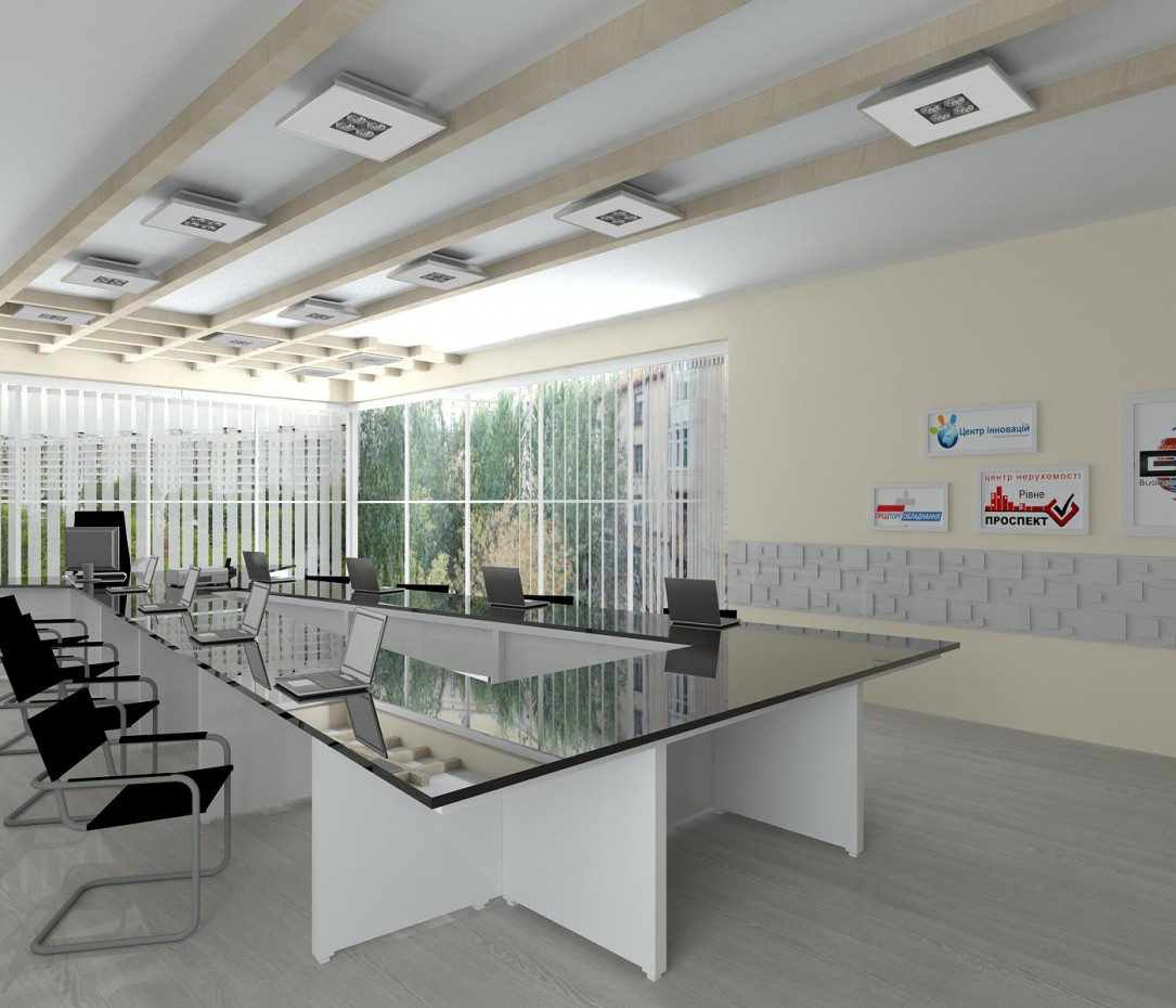 Office + meeting room in 3d max vray image