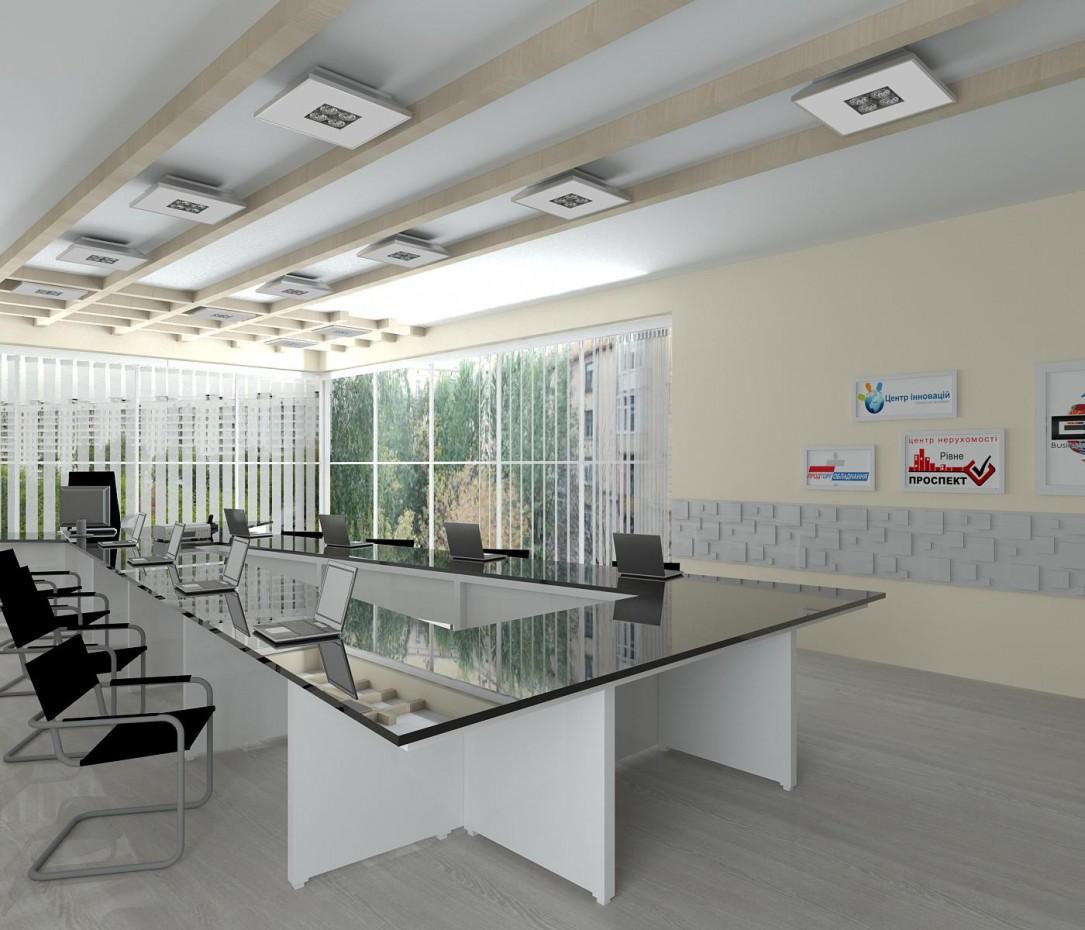 Офіс + зал засідань в 3d max vray зображення