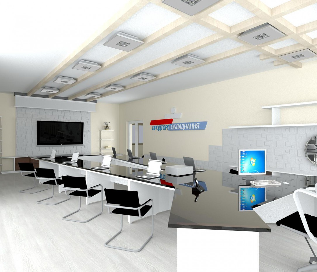 imagen de Oficina + sala de reuniones en 3d max vray