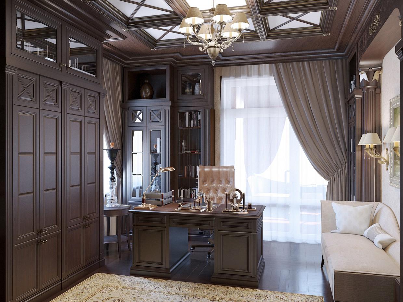 Cabinet in 3d max corona render image