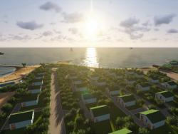 Курортная зона на оз. Балхаш (видео прилагается)