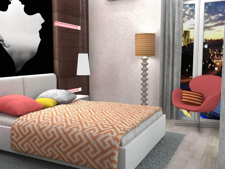 imagen de  Dormitorio para los amantes :))  en  3d max   vray