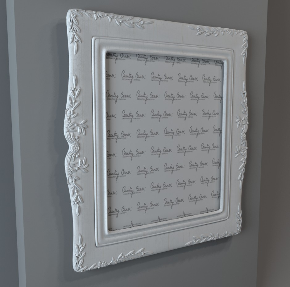Photo Frame in 3d max vray image