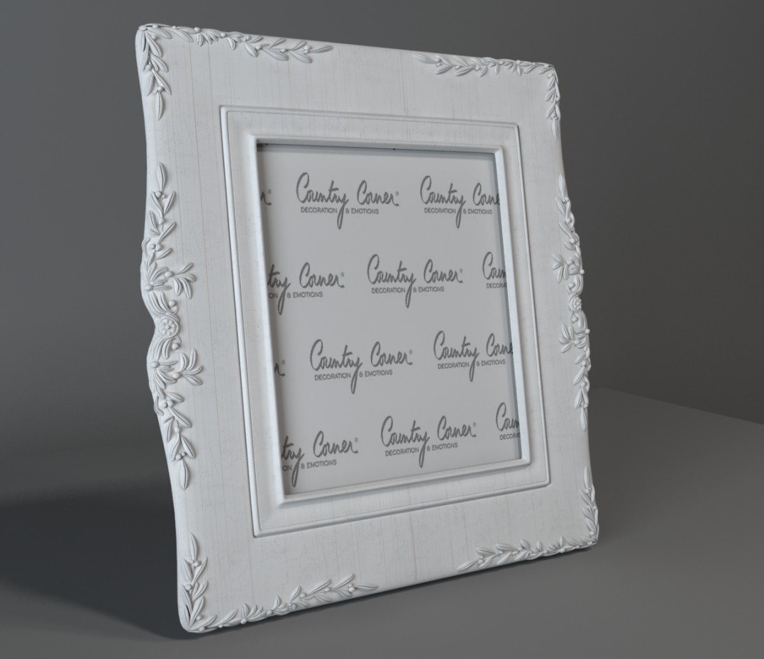 3d visualization of the project in the Photo Frame 3d max, render vray of Diana_DI