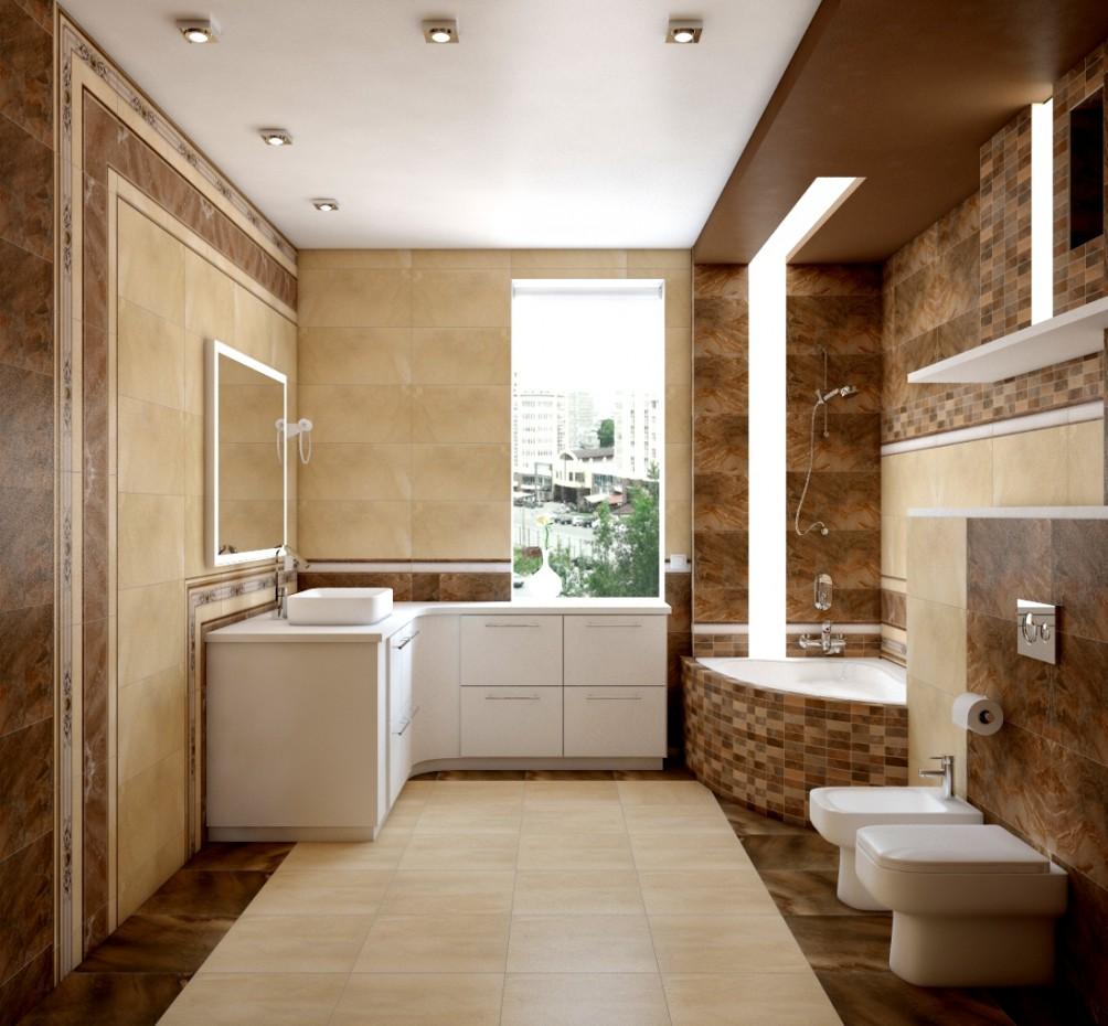 visualisation 3D du projet du salle de bain 3d max , rendre vray belajapushistaja
