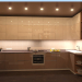 Kitchen in coffee colors in 3d max corona render image