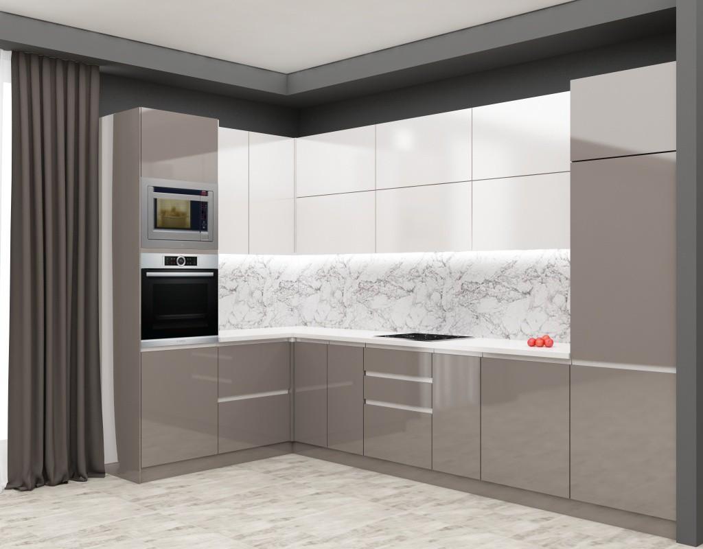 3d візуалізація проекту Кухня в 3d max, рендер vray 3.0 від meriamo