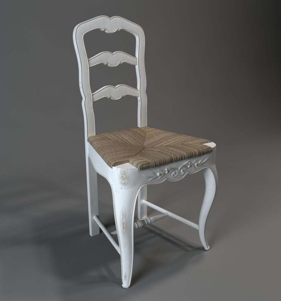 Chair in 3d max vray image