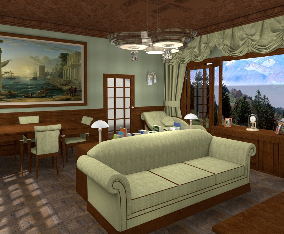 Classical living room in Other thing Other image