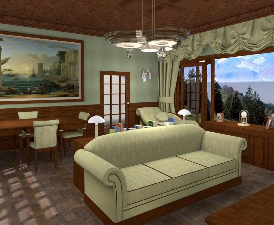 Класична вітальня в Інше Other зображення