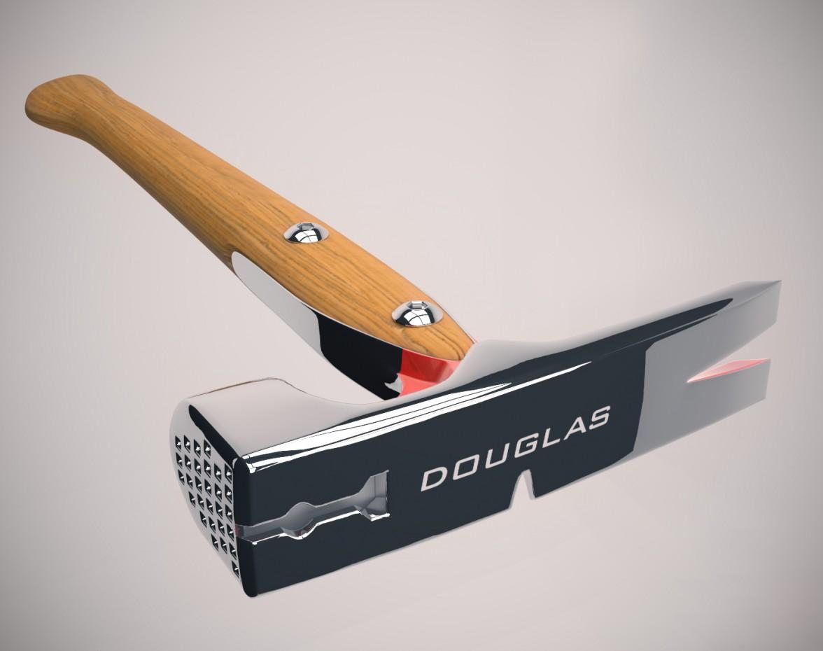 """imagen de Herramienta """"Douglas"""" en 3d max vray"""