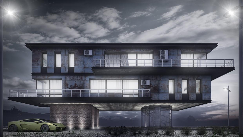 SINGLEFAMILY HOUSE, ARIZONA, USA in 3d max vray 3.0 image