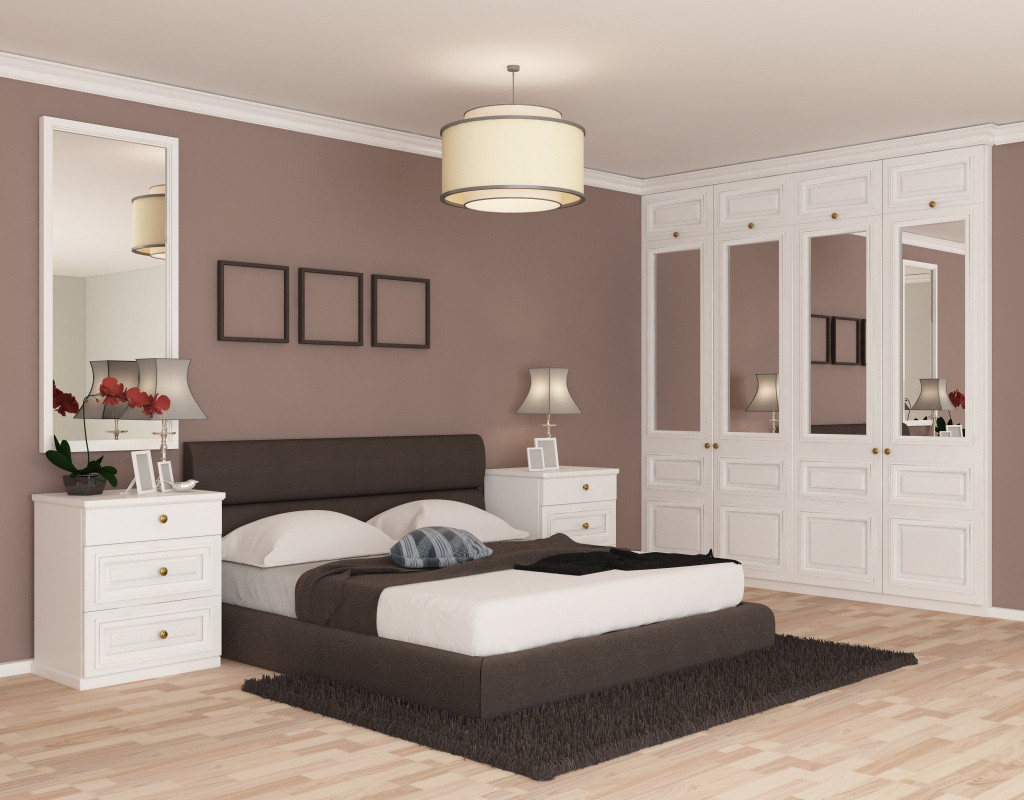 Bedroom Design in 3d max vray 3.0 image