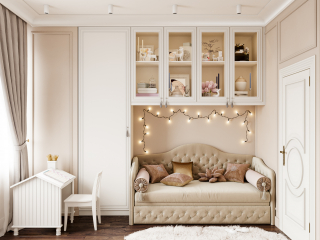 Children's room for a girl