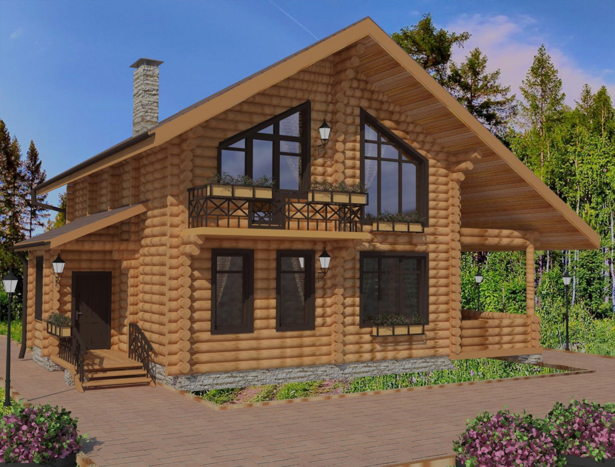 Vacation home in 3d max vray 3.0 image