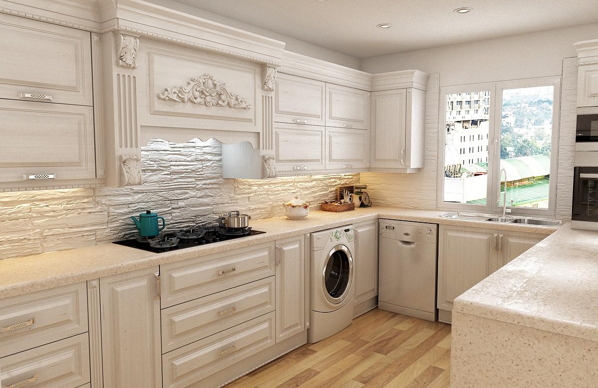 रसोई SS 3d max vray 2.5 में प्रस्तुत छवि
