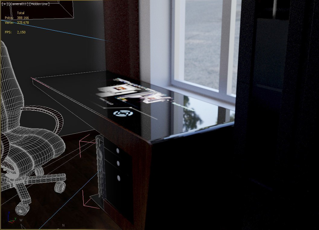 Stylish desktop gadget in 3d max Other image