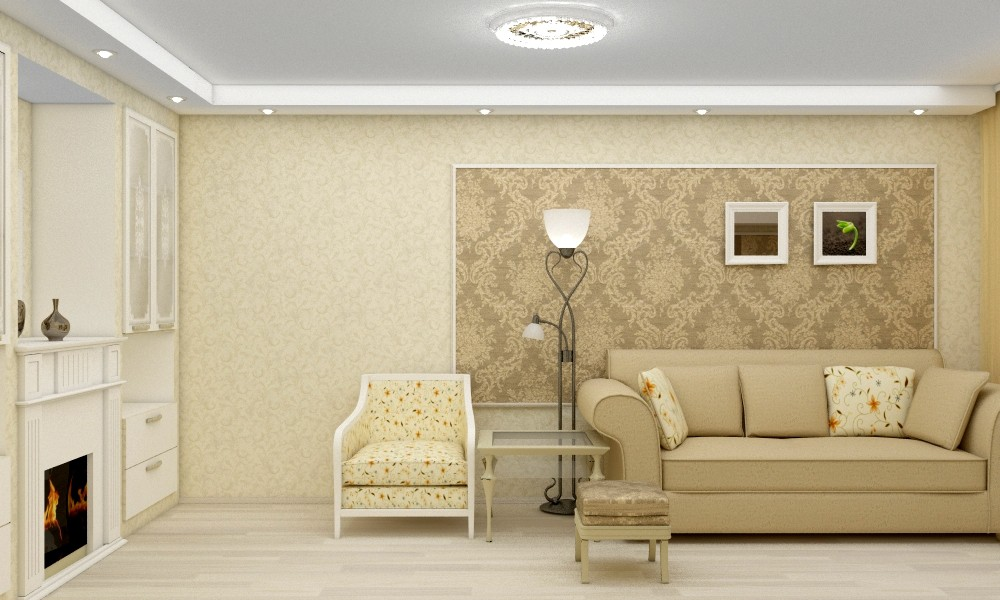 Small living room in 3d max vray image