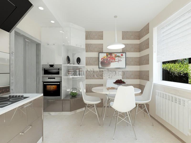 Інтер'єр кухні в 3d max vray зображення