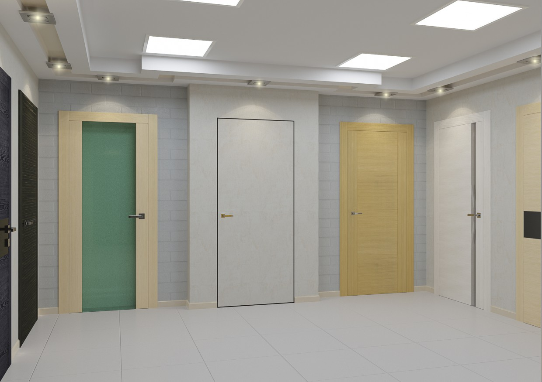 imagen de Puertas de interior en 3d max corona render