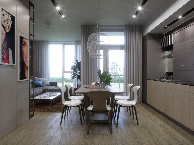 Penthouse 1st floor in 3d max Fstorm image