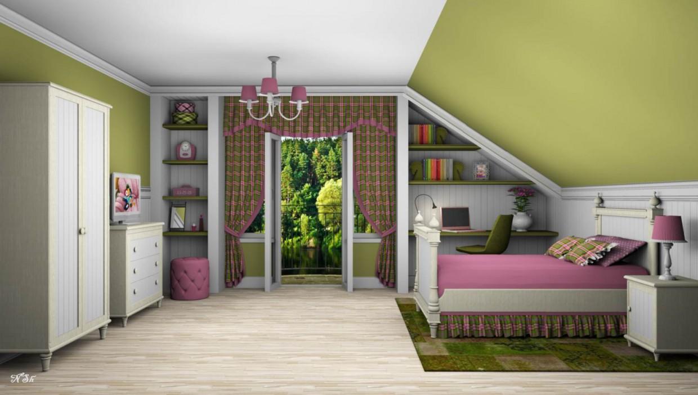 imagen de Dormitorio para una chica. en Otra cosa Other