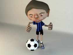 Cartoon-Figur