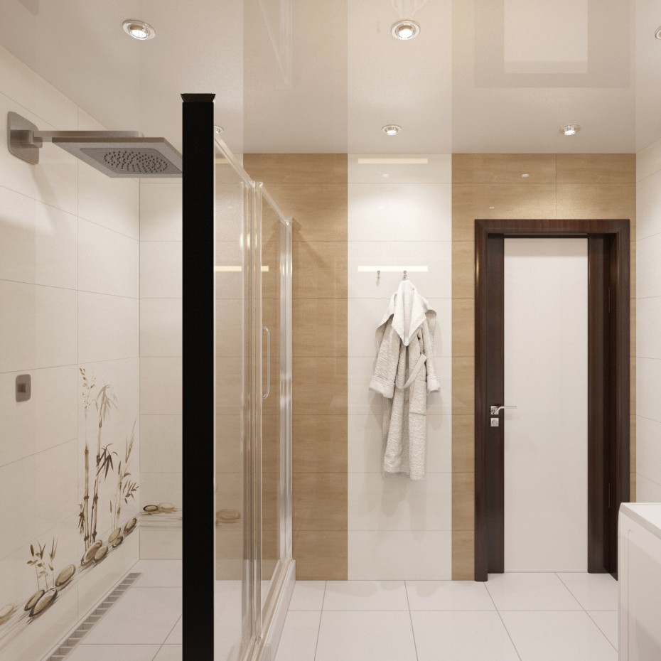 imagen de Cuarto de baño 2 en 3d max corona render