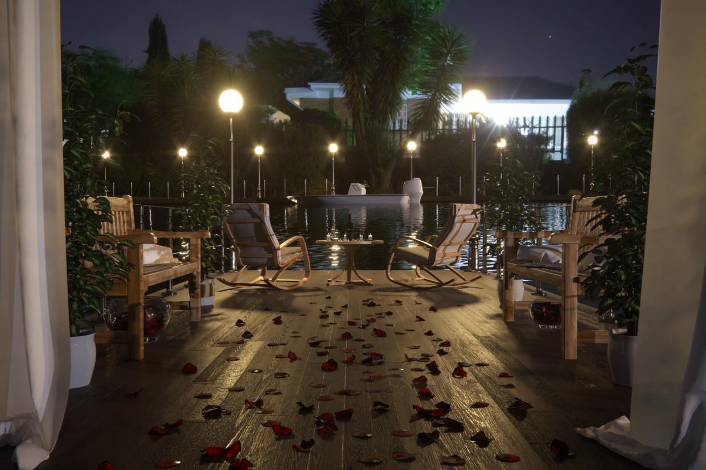 That feeling when you're in love) in Cinema 4d corona render image