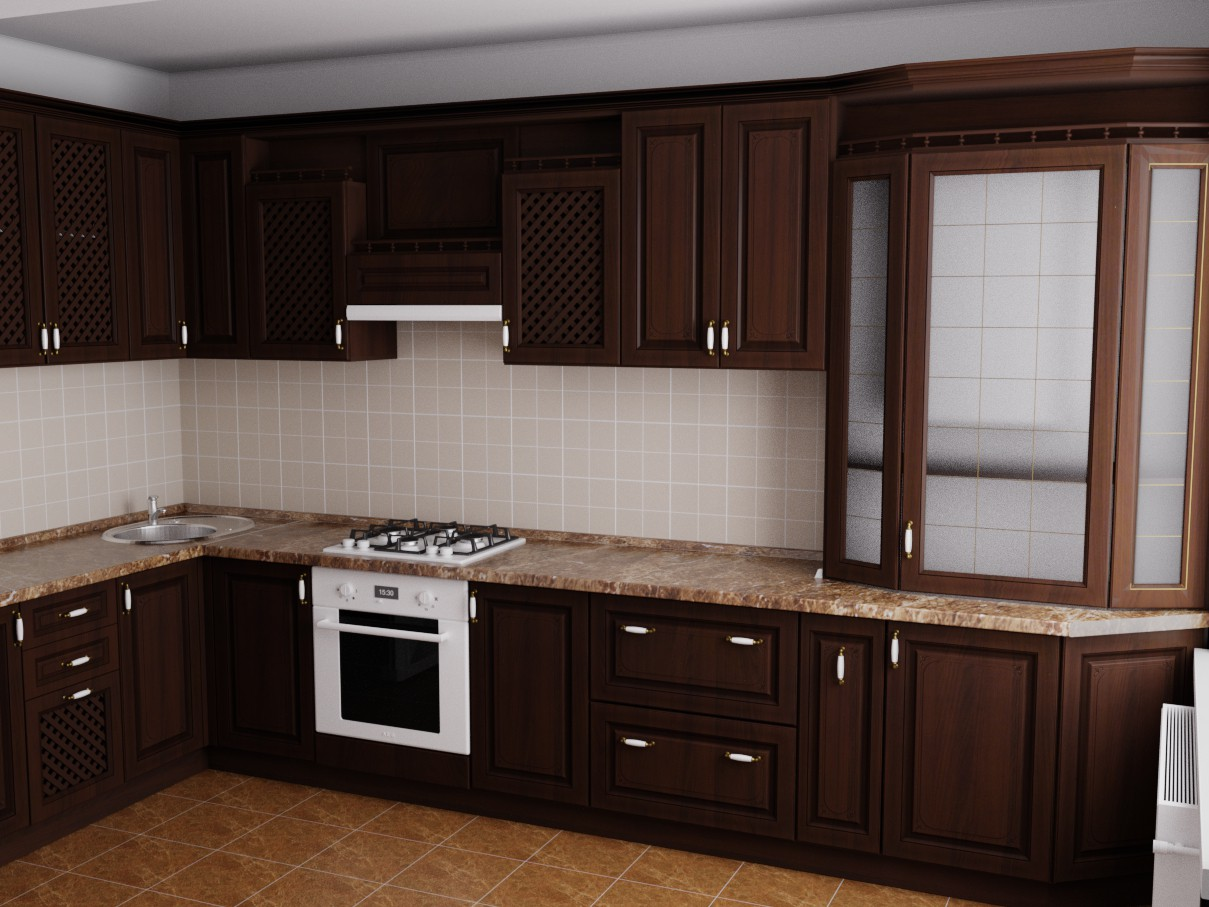 In a country house in Blender cycless render image