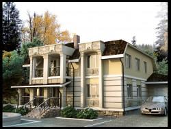 Wohnhaus in Feguren