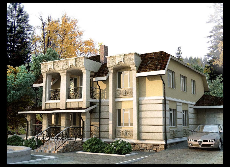 imagen de Edificio de viviendas en Feguren en 3d max vray