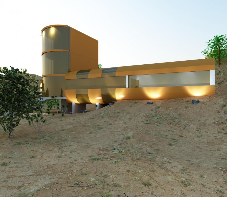 Bunker!! in 3d max vray 2.0 image