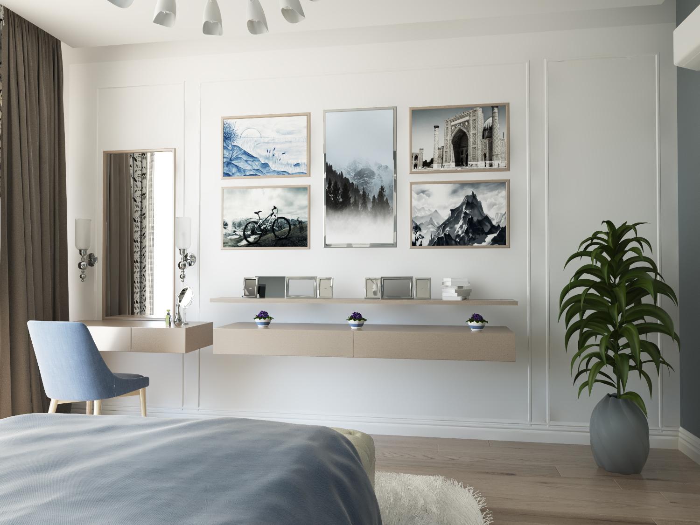 """Sleeping """"Scandinavian rest"""" in 3d max vray 3.0 image"""