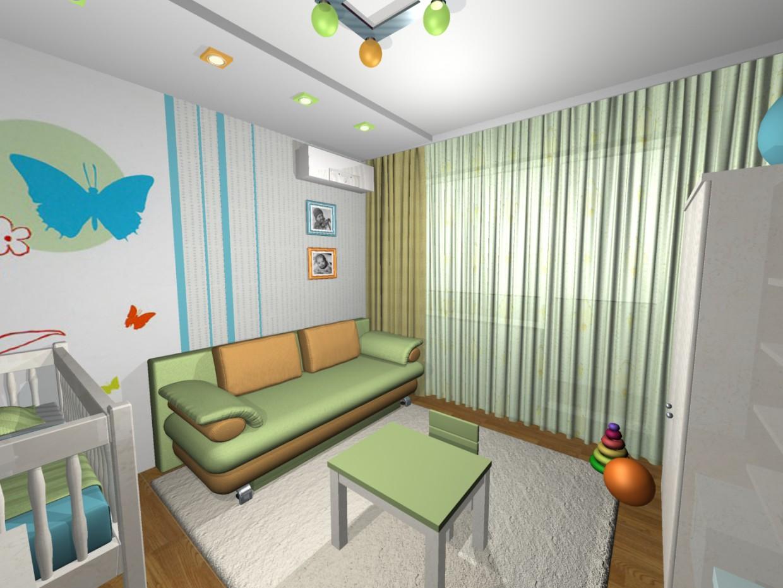 жизнь в 16-этажке в 3d max mental ray изображение