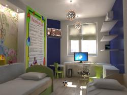 Интерьер детская комната