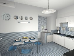 kitchen and sea)