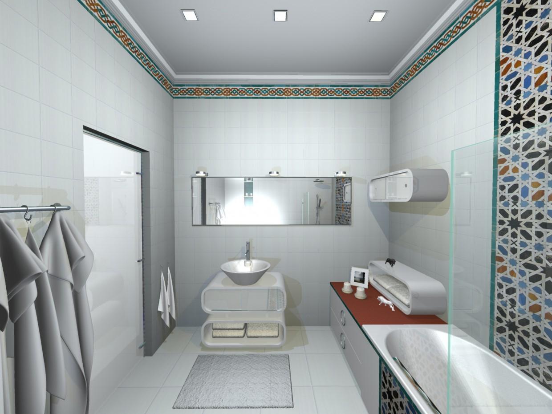 imagen de baño en las opciones (1) en 3d max mental ray