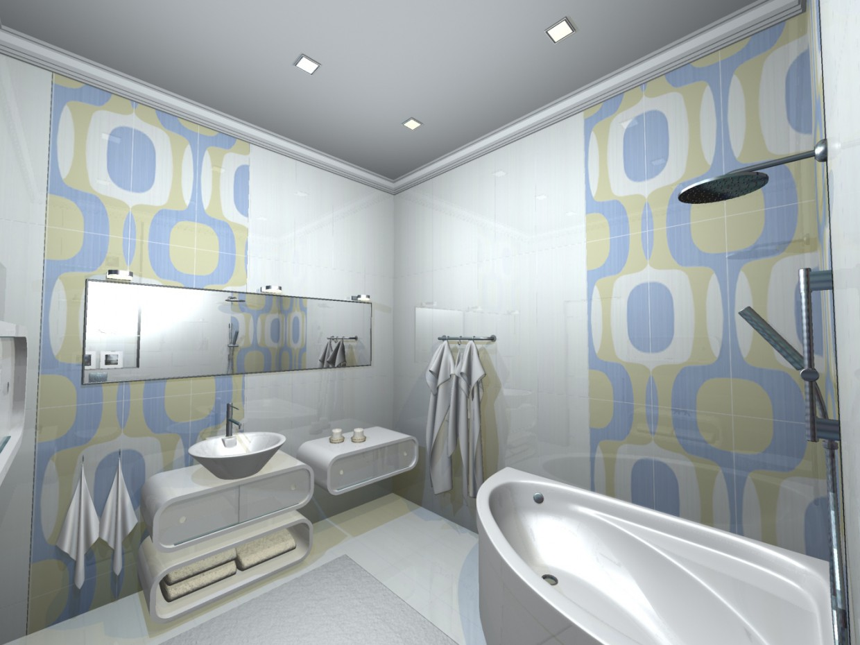 3d visualization of the project in the en versions (3) 3d max, render mental ray of Kateryna-K