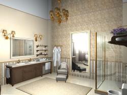 unanständig großes Badezimmer