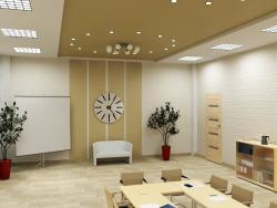 Reconstrucción de la tienda para oficinas.