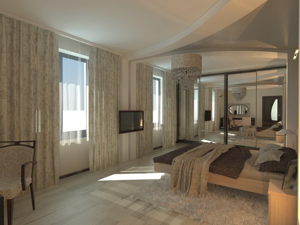 спальня в Одесі в 3d max vray зображення