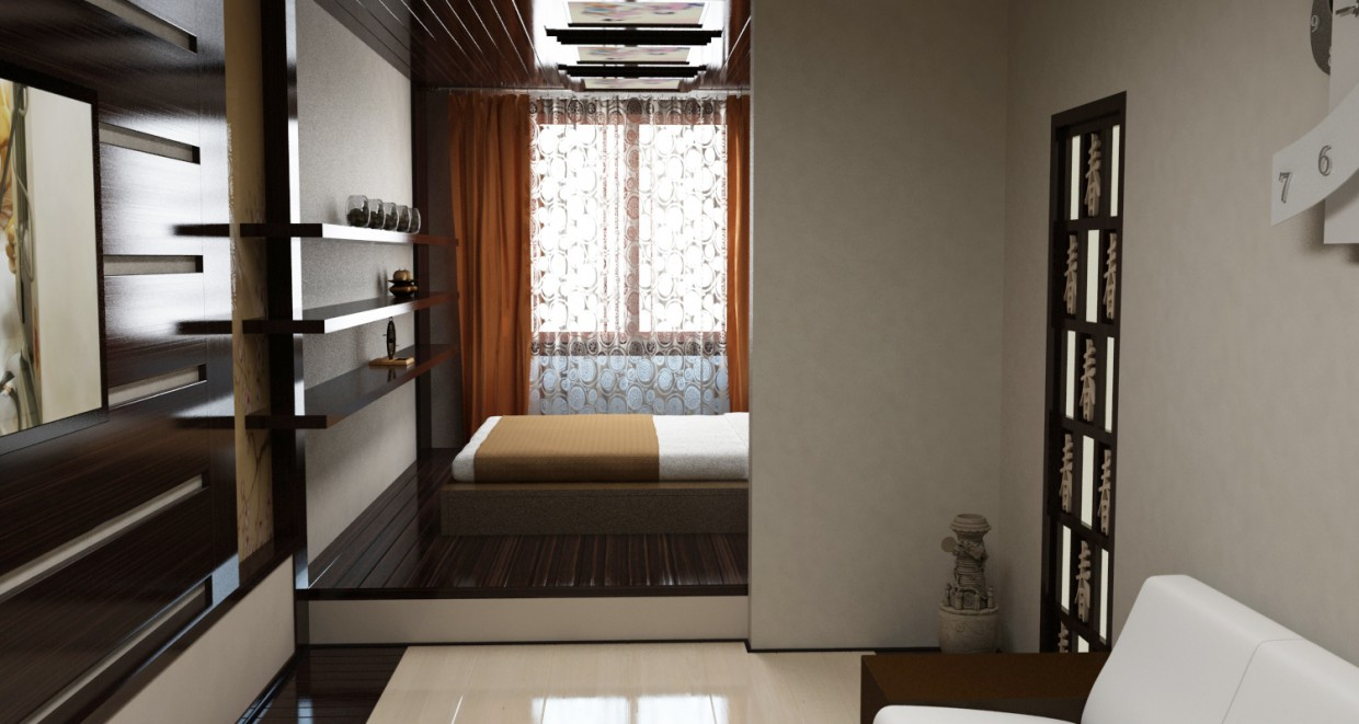Rooms in 3d max vray image