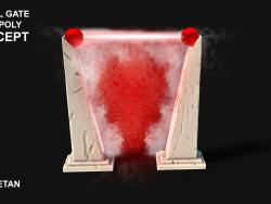 3D Portal Gate Concept