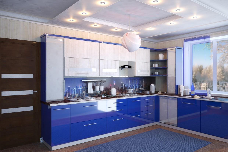 Кухня-варіанти в 3d max vray зображення